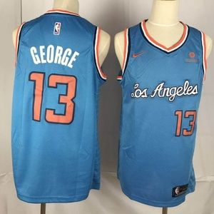 Los Angeles Clippers #13 Paul George Jersey